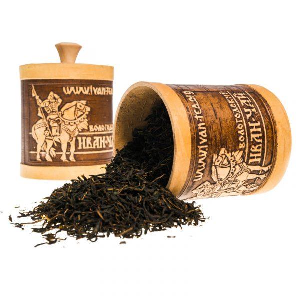 Иван-чай в берестяном туеске, 70 гр и 100 гр