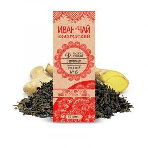 Иван-чай с имбирем