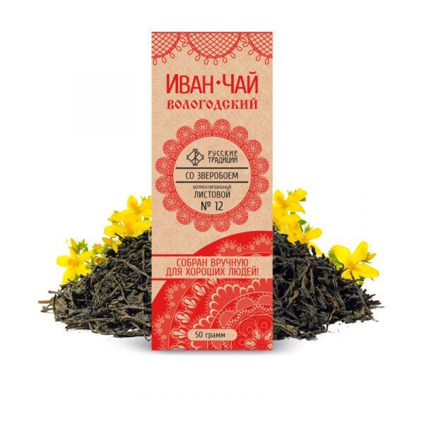 Иван-чай со зверобоем
