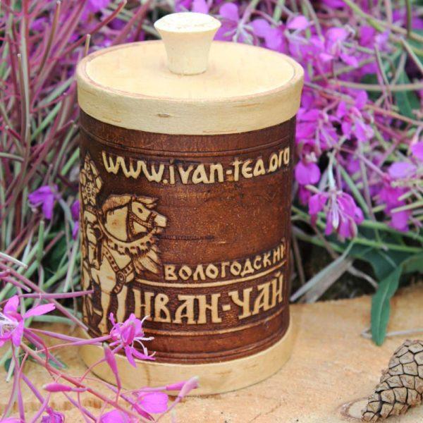 Иван-чай в берестяном туеске, 70 гр