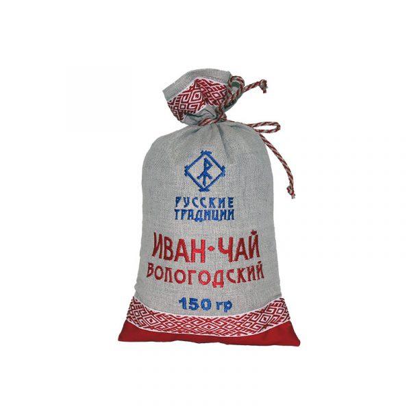 Иван-чай в льняном мешке 150 гр