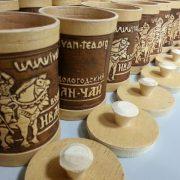 Иван-чай в берестяном туеске