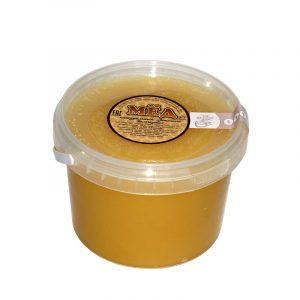 Мед натуральный в пластиковом стакане, 0,7 кг