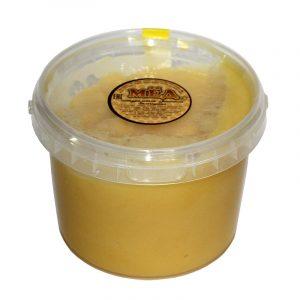 Мед натуральный в пластиковом стакане, 1 кг