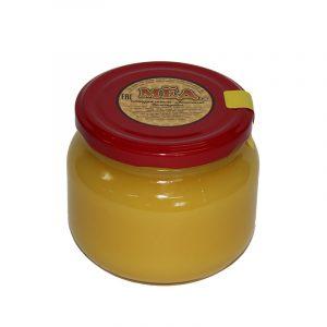 Мед натуральный в стеклянной банке, 0,35 кг