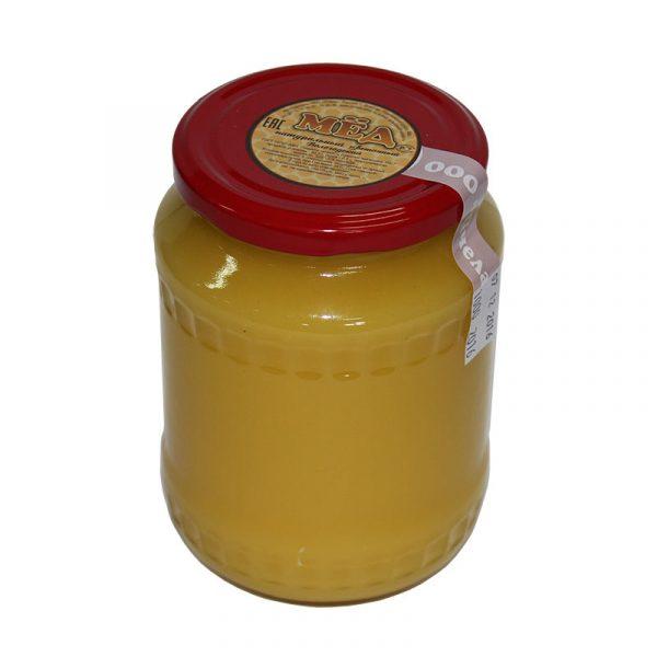 Мед натуральный в стеклянной банке, 0,5 кг