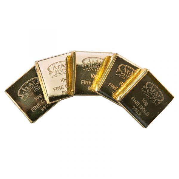 Конфеты 10 грамм золота