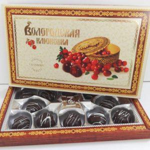 Конфеты Вологодская клюковка, 250 гр