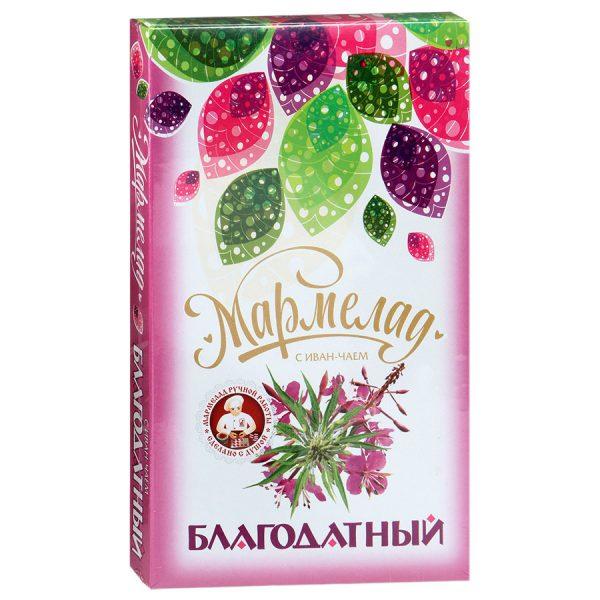 Мармелад Благодатный с Иван-чаем, 240 гр