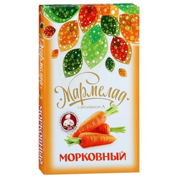 Мармелад Морковный с витамином А, 280 гр