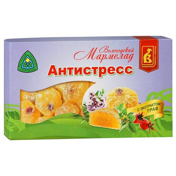 Мармелад Вологодский Антистресс, 270 гр