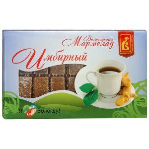 Мармелад Вологодский Имбирный, 300 гр