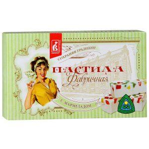 Пастила Фабричная с мармеладом, 255 гр
