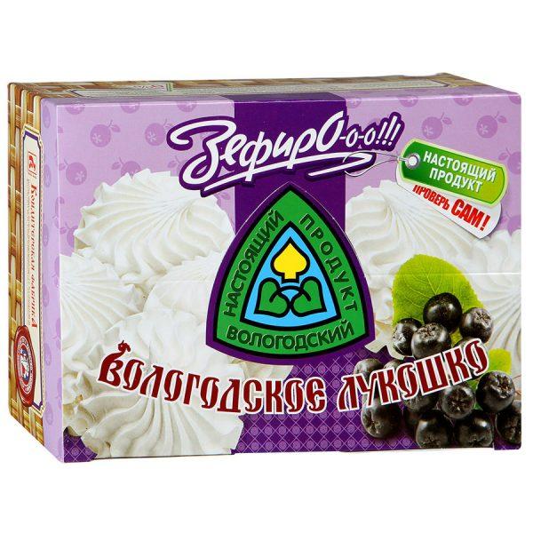 Зефир Вологодское лукошко с аронией, 240 гр