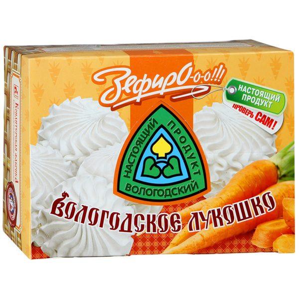 Зефир Вологодское лукошко с морковью, 240 гр