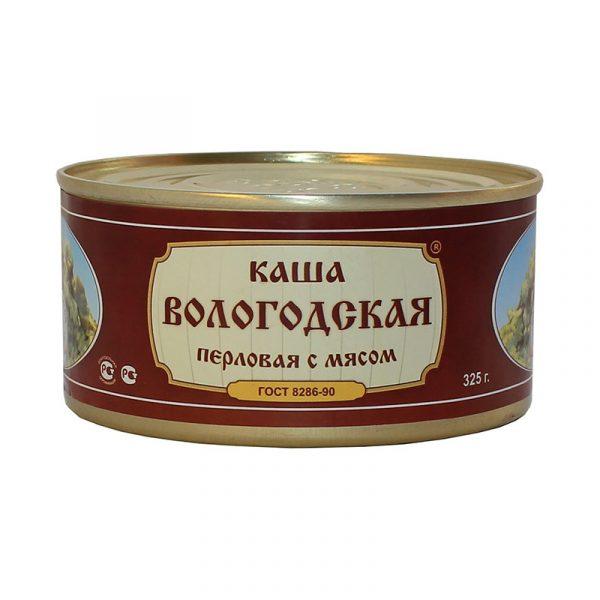 Каша перловая с говядиной ГОСТ, 325 гр