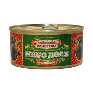 Мясо лося тушеное, 325 гр