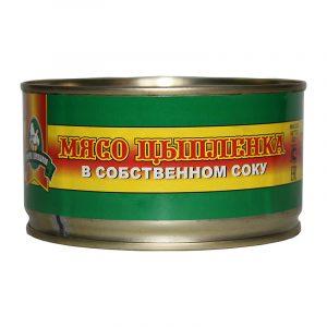 Мясо цыпленка-бройлера в с/с, 325 гр