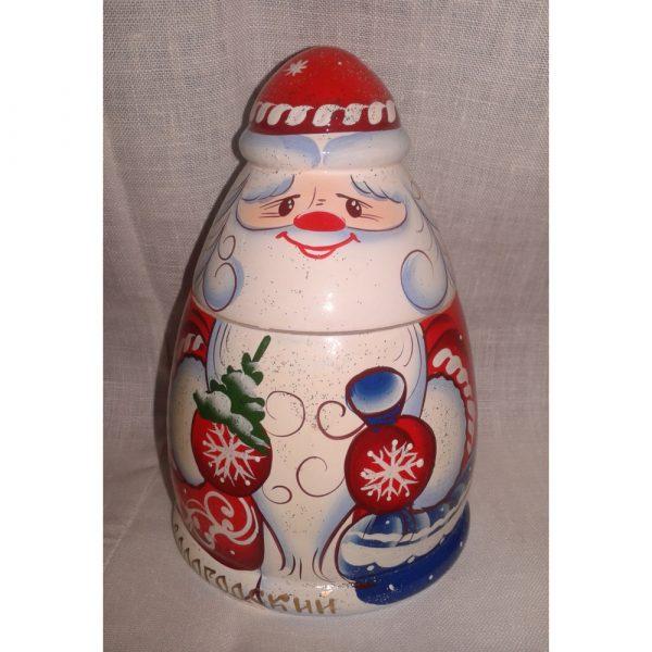 Сувенир Дед Мороз с медом, 0,3 кг