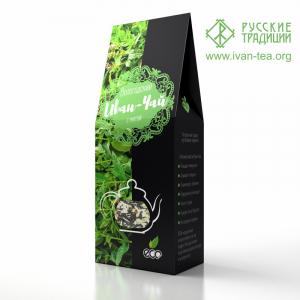 Вологодский Иван-чай с мятой в картонной упаковке, 50 г
