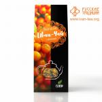 Вологодский Иван-чай с облепихой в картонной упаковке, 50 г