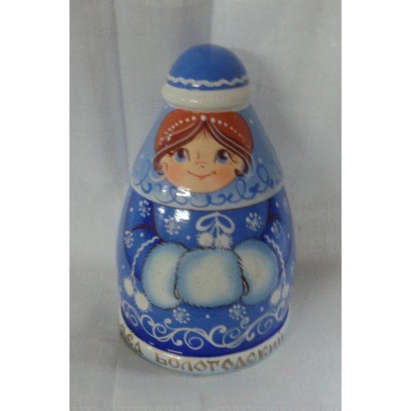 Сувенир Снегурочка с медом, 0,3 кг