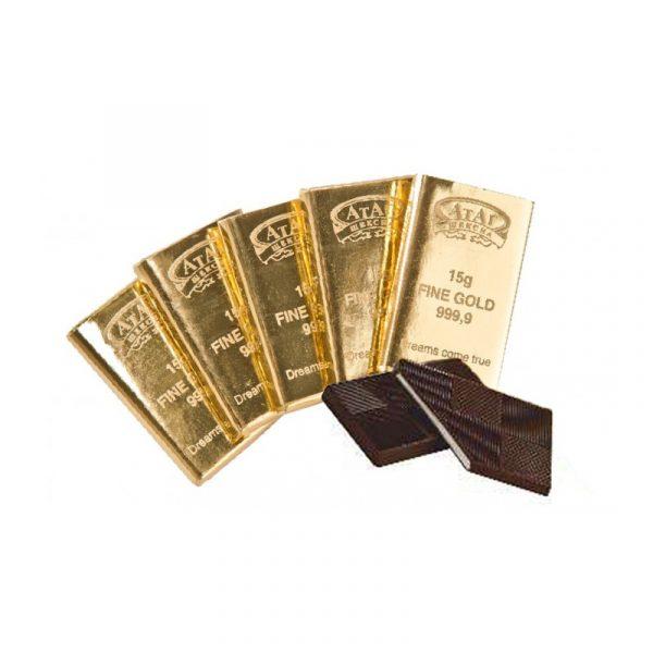 Конфеты 15 грамм золота