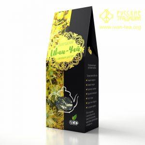 Вологодский Иван-чай с липовым цветом в картонной упаковке, 50 г