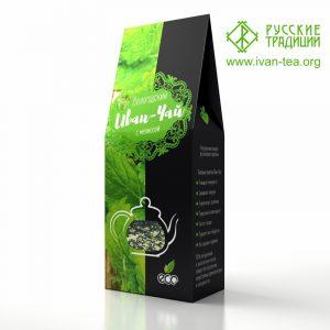 Вологодский Иван-чай с мелиссой в картонной упаковке, 50 г