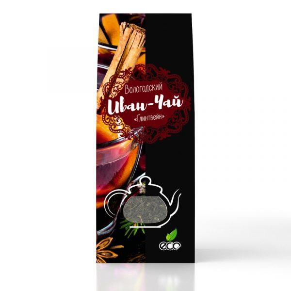 Вологодский Иван-чай «Глинтвейн» в картонной упаковке, 50 г